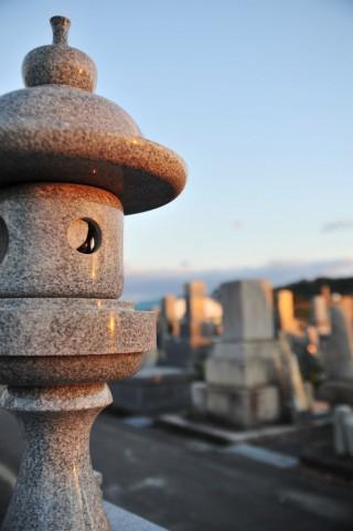遺骨柱の改葬