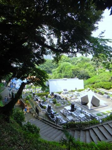 都営墓地と市営墓地