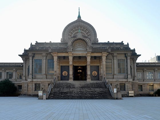 築地本願寺納骨堂外観の本堂
