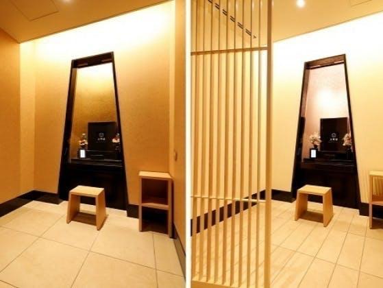 上野さくら浄苑の納骨堂オシャレなデザイン