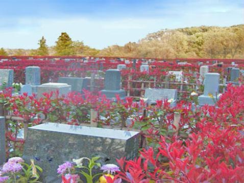 泉の郷霊園外観