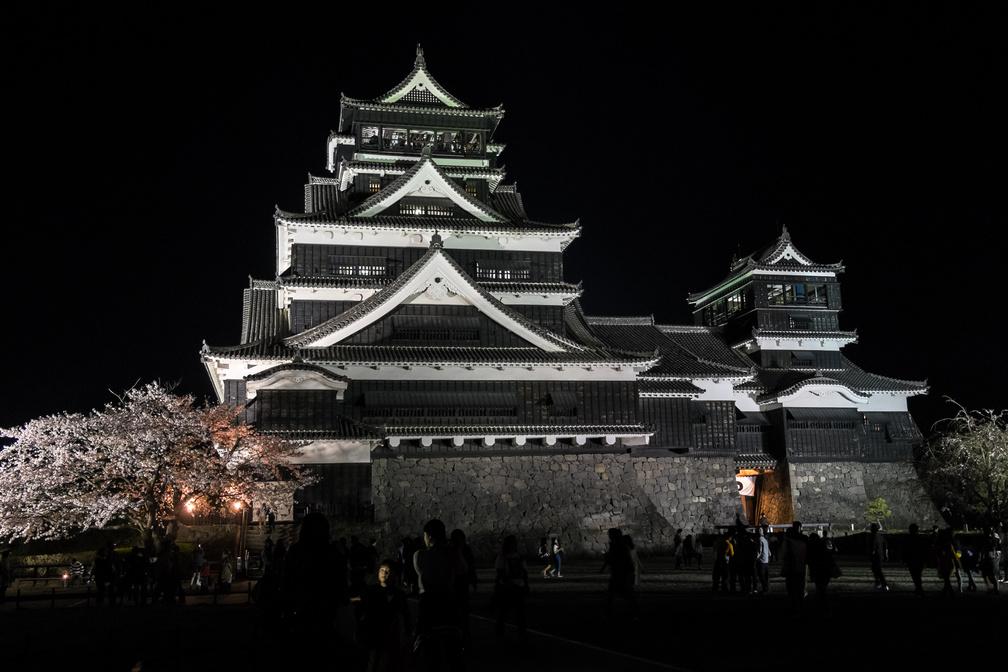 熊本市の象徴熊本城
