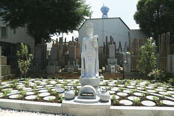 四谷三丁目樹木葬墓地外観
