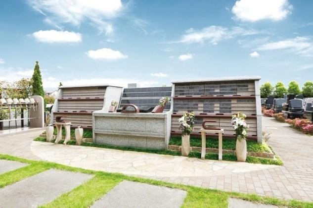 うらわ美園霊苑「永遠の絆」永代供養墓の外観