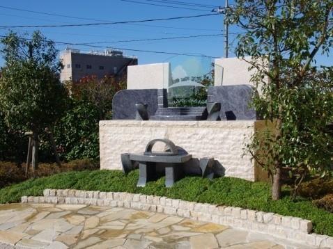 うらわ秋ヶ瀬霊園「永遠の絆」永代供養墓の外観