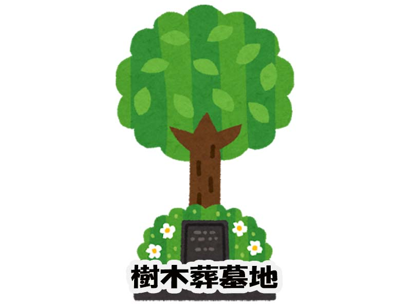 樹木葬墓地のイメージ
