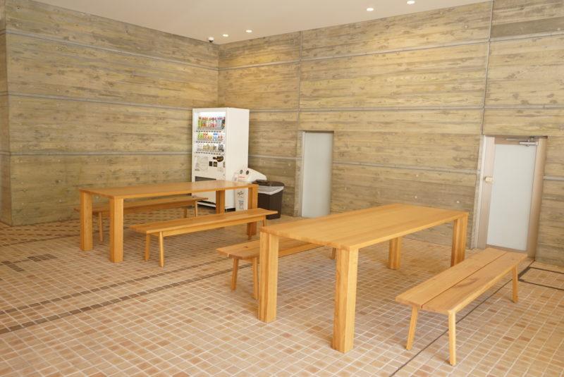 蔵前陵苑納骨堂の休憩スペース
