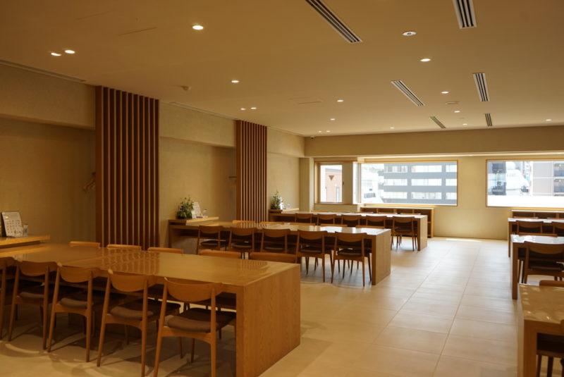 蔵前陵苑の客殿会食室
