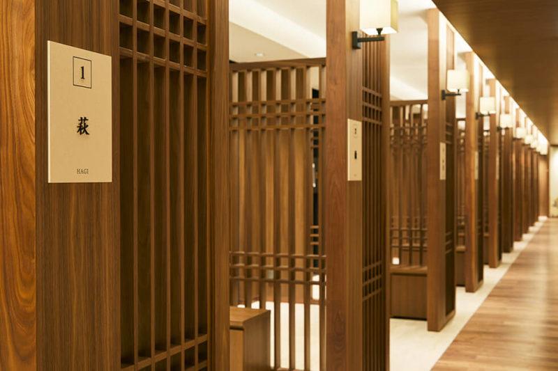 本駒込陵苑のそれぞれが個室となった礼拝室